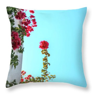Blooming Beauty Throw Pillow