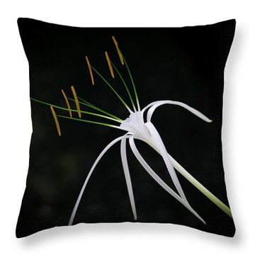 Blooming Poetry 2 Throw Pillow