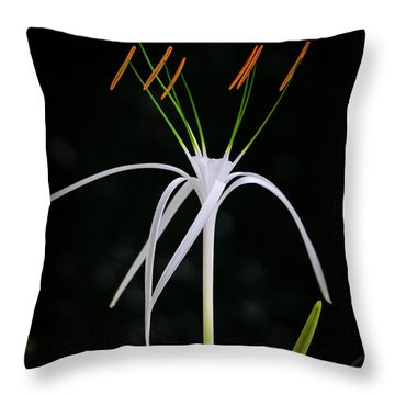 Blooming Poetry 3 Throw Pillow