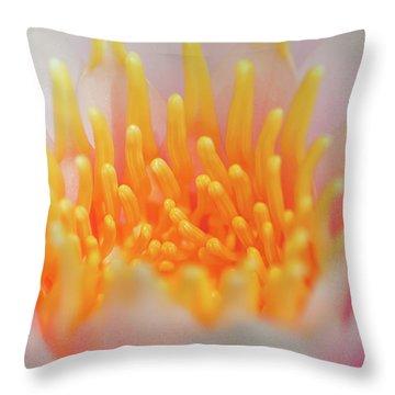 Blooming Virgins Throw Pillow