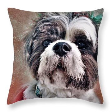 Blossom Throw Pillow