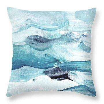 Blue #14 Throw Pillow