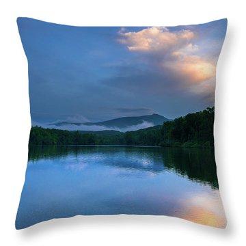 Blue Ridge Parkway - Price Lake - North Carolina Throw Pillow