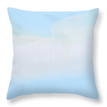 Blue Skies Ahead Throw Pillow