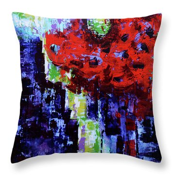 Blurry Vision  Throw Pillow