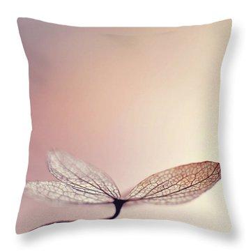Blushing Throw Pillow