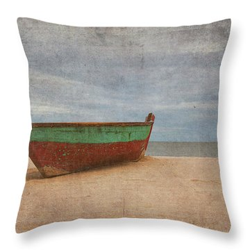 Boat Throw Pillow