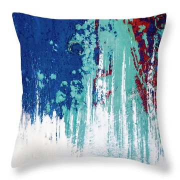 Boatyard Art Throw Pillow