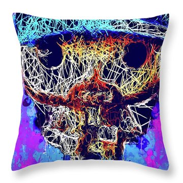 Bobby Supernatural Pop Throw Pillow