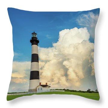 Bodie Island Lighthouse  Throw Pillow