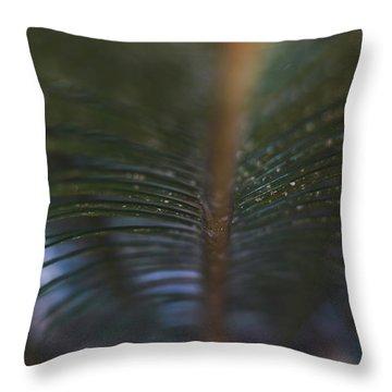 Bokeh Sparkles - Macro Throw Pillow