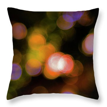 Bokehlicious  Throw Pillow