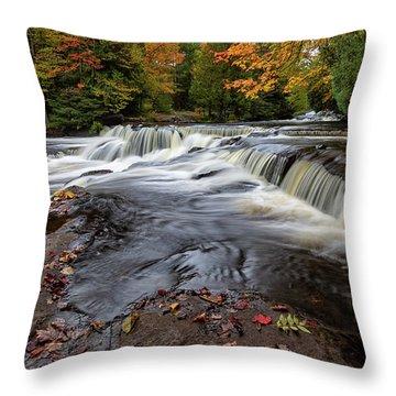 Bond Falls 11 Throw Pillow