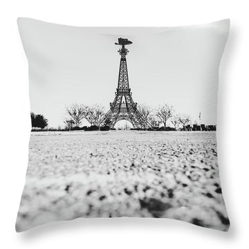 Bonjour Y'all Throw Pillow