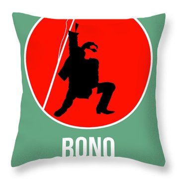 Bono Throw Pillow