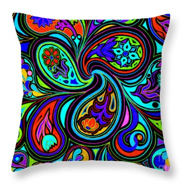Boosted Dark Fantastic Throw Pillow