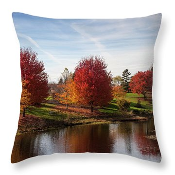 Botanic Gardens Throw Pillow