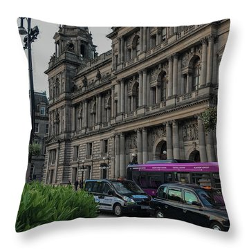 Bound For The Chambers Throw Pillow