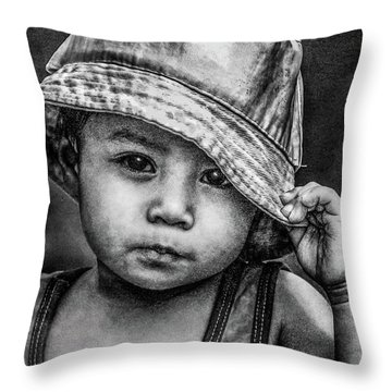 Boy-oh-boy Throw Pillow