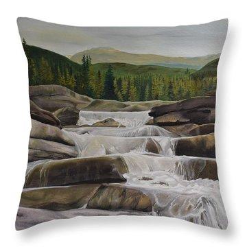Bragg Creek Throw Pillow
