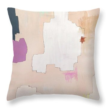 Brdr02 Throw Pillow