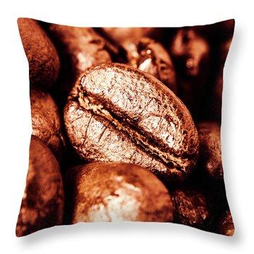 Breakfast Beans Throw Pillow