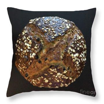 Breakfast Sourdough Throw Pillow