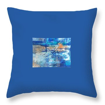 Breakthrough Throw Pillow