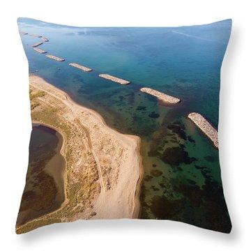 Breakwater Throw Pillow