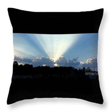 Breathtaking Sky Throw Pillow