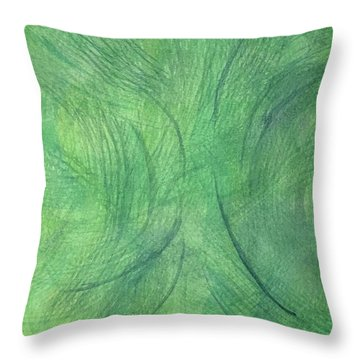 Breeze 3 Throw Pillow
