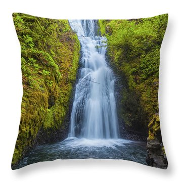 Bridal Veil Throw Pillow