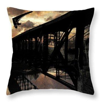 Bridge I Throw Pillow