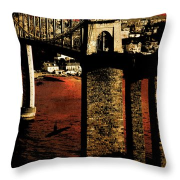 Bridge II Throw Pillow