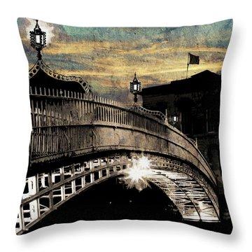 Bridge IIi Throw Pillow