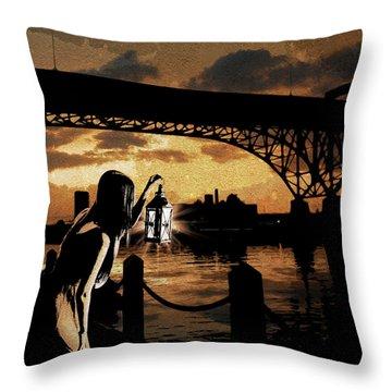 Bridge Iv Throw Pillow