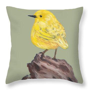 Bright Spot #2 Throw Pillow