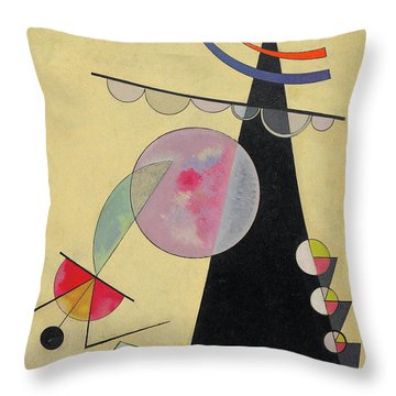 Bright Unity - Helle Einheit Throw Pillow