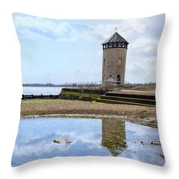 Brightlingsea Reflections Throw Pillow