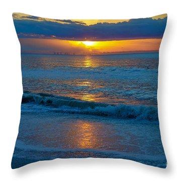 Brilliant Sunrise Throw Pillow