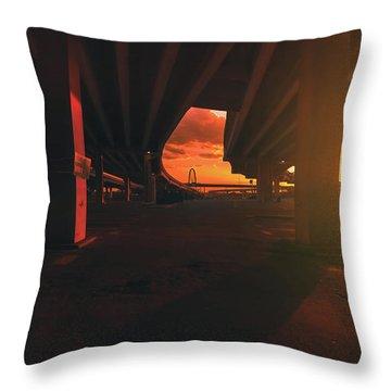 Broiler Throw Pillow