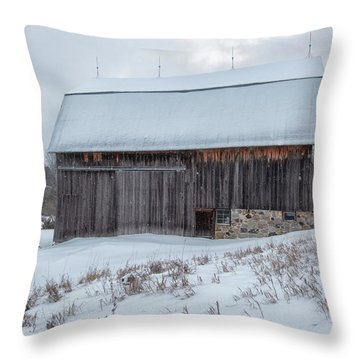 Brunson Barn 2 Throw Pillow