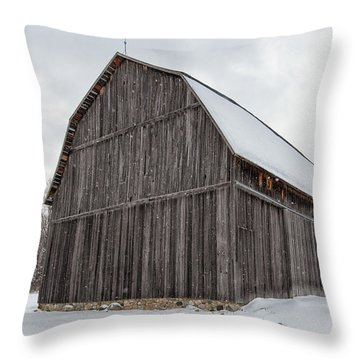 Brunson Barn 1 Throw Pillow