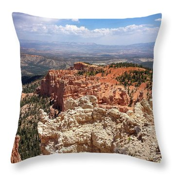 Bryce Canyon High Desert Throw Pillow