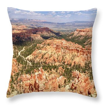 Bryce Canyon Hoodoos Throw Pillow
