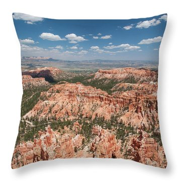 Bryce Canyon Trail Throw Pillow
