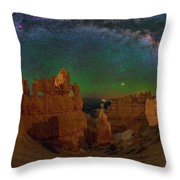 Bryce Panorama Throw Pillow