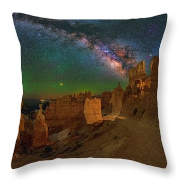 Bryce Panorama Throw Pillow