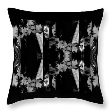 Bts - Bangtang Boys Throw Pillow