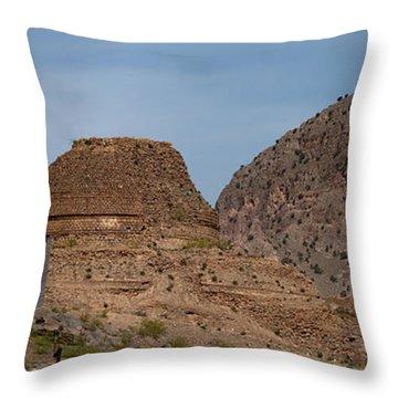 Buddhist Stuppa  Throw Pillow